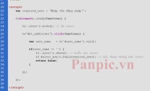 bootstratp-alert-script